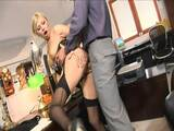 Blondie wants to please her boss